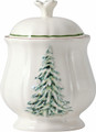 Gien Filets Noel Sugar Bowl