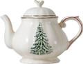 Gien Filets Noel Teapot