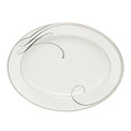 WATERFORD BALLET RIBBON OVAL PLATTER, 15.25 in. 140281