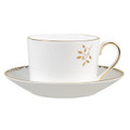 Vera Wang Wedgwood Gilded Leaf Cup and Saucer