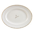 Vera Wang Wedgwood Gilded Leaf Oval Platter 13.75 in 5C101103001