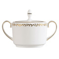 Vera Wang Wedgwood Gilded Leaf Sugar Bowl 5C101105614