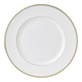 Vera Wang Wedgwood Golden Grosgrain Dinner Plate 10.75 in 50108501004