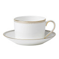 Vera Wang Wedgwood Golden Grosgrain Cup and Saucer