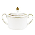 Vera Wang Wedgwood Golden Grosgrain Sugar Bowl 50108505614
