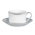 Vera Wang Wedgwood Grosgrain Cup and Saucer