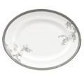 Vera Wang Wedgwood Vera Lace Oval Platter 13.75 in 50127203001