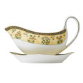 Wedgwood India Gravy Boat and Stand