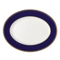 Wedgwood Renaissance Gold Oval Platter 13.75 in 5C102103001
