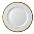 Bernardaud Athena Gold Dinner Plate 10.2 in