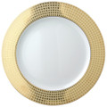 Bernardaud Athena Gold Service Plate 11.6 in
