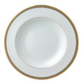 Bernardaud Athena Gold Rim Soup Bowl 9 in