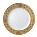 Bernardaud Athena Gold Accent Plate 8 in