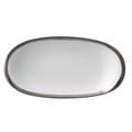 Bernardaud Athena Platinum Relish Dish 9x5 in