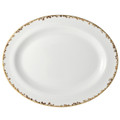 Bernardaud Copucine Oval Platter 13 in