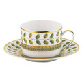 Bernardaud Constance Green Cup and Saucer