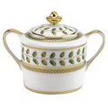 Bernardaud Constance Green Sugar Bowl