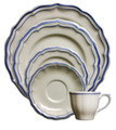 Gien Filet Bleu 5-piece Place Setting