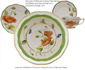 Herend American Wildflowers 5-piece Place Setting