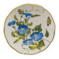Herend American Wildflowers Dinner Plate Morning Glory 10.5 in FLA-MG20524-0-50