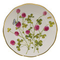 Herend American Wildflowers Dinner Plate Red Clover 10.5 in FLA-CL20524-0-50