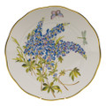 Herend American Wildflowers Dinner Plate Texas Bluebonnet 10.5 in FLA-BB20524-0-50