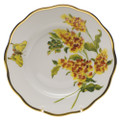Herend American Wildflowers Salad Plate Butterfly Weed 7.5 in FLA-BW20518-0-00