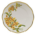 Herend American Wildflowers Bread and Butter Plate Butterfly Weed 6 in FLA-BW20515-0-00