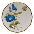 Herend American Wildflowers Bread and Butter Plate Morning Glory 6 in FLA-MG20515-0-00