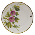 Herend American Wildflowers Bread and Butter Plate Passion Flower 6 in FLA-PF20515-0-00
