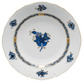 Herend Chinese Bouquet Black Sapphire Dessert Plate 8.25 in AB3-X101520-0-00