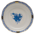Herend Chinese Bouquet Blue Tea Saucer 6 in AB----00734-1-00