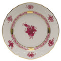 Herend Chinese Bouquet Raspberry Bread and Butter Plate 6 in AP----01515-0-00