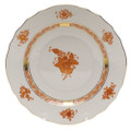 Herend Chinese Bouquet Rust Salad Plate 7.5 in AOG---01518-0-00