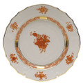 Herend Chinese Bouquet Rust Bread and Butter Plate 6 in AOG---01515-0-00
