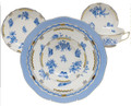 Herend Fortuna Blue 5-Piece Place Setting