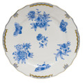 Herend Fortuna Blue Dinner Plate 10.5 in VBOB--01524-0-00