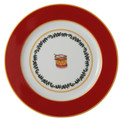 Bernardaud Grenadiers Red Drum Accent Plate