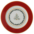 Bernardaud Grenadiers Red Tree Accent Plate