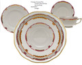 Herend Princess Victoria Pink 5-piece Place Setting