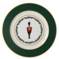 Bernardaud Grenadiers Green Soldiers Accent Plate