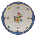 Herend Printemps with Blue Border Salad Plate No.3 7.5 in BT-EB-01518-0-03