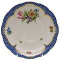 Herend Printemps with Blue Border Tea Saucer No.3 6 in BT-EB-00734-1-03