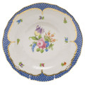 Herend Printemps with Blue Border Dessert Plate No.4 8.25 in BT-EB-01520-0-04