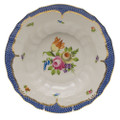 Herend Printemps with Blue Border Rim Soup No.1 9.5 in BT-EB-01503-0-01