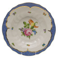 Herend Printemps with Blue Border Rim Soup No.2 9.5 in BT-EB-01503-0-02
