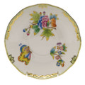 Herend Queen Victoria Cov Bouillon Saucer 6.5 in VBO---00744-1-00