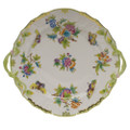 Herend Queen Victoria Chop Plate with Handles 12 in VBO---01173-0-00