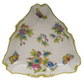 Herend Queen Victoria Triangle Dish 9.5 in VBO---01191-0-00