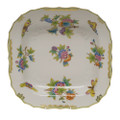 Herend Queen Victoria Square Fruit Dish 11 in VBO---01181-0-00